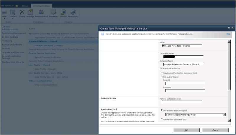 ManagedMetada App Proxy ID 1