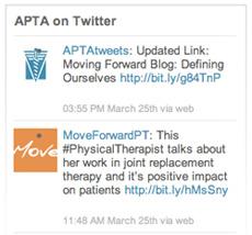 APTA Tweets